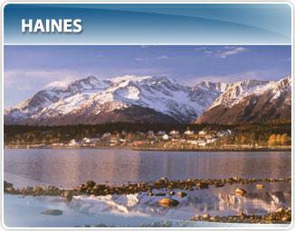 Maps Of Alaska Ports Of Call Alaska Cruises And Land Tours